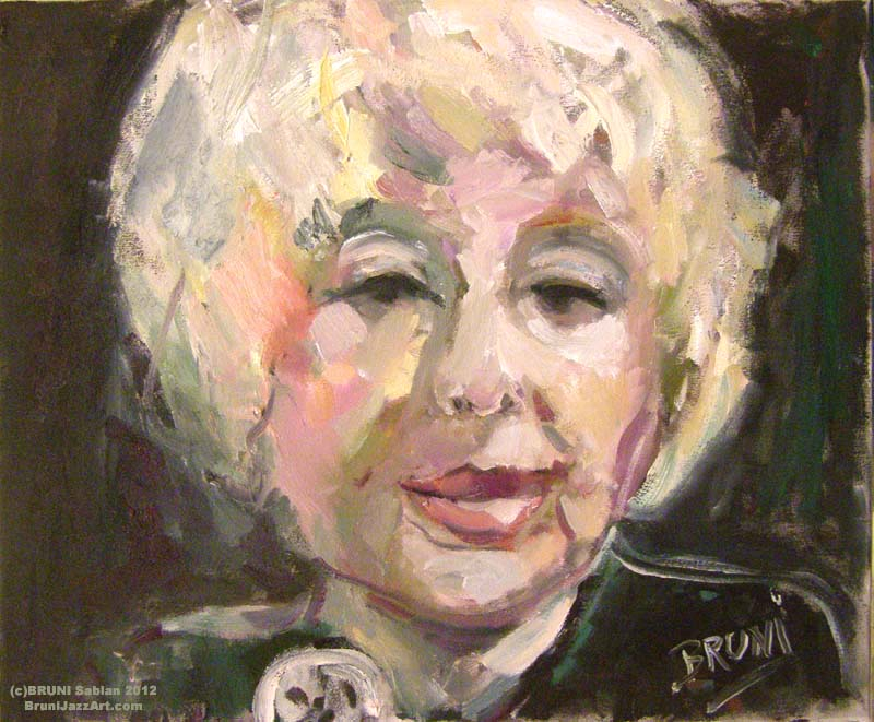 Blossom Dearie Painting by BRUNI