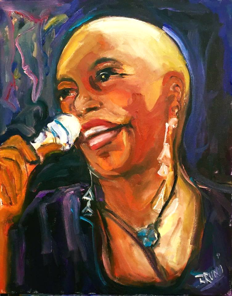 Dee Dee Bridgewater by BRUNI