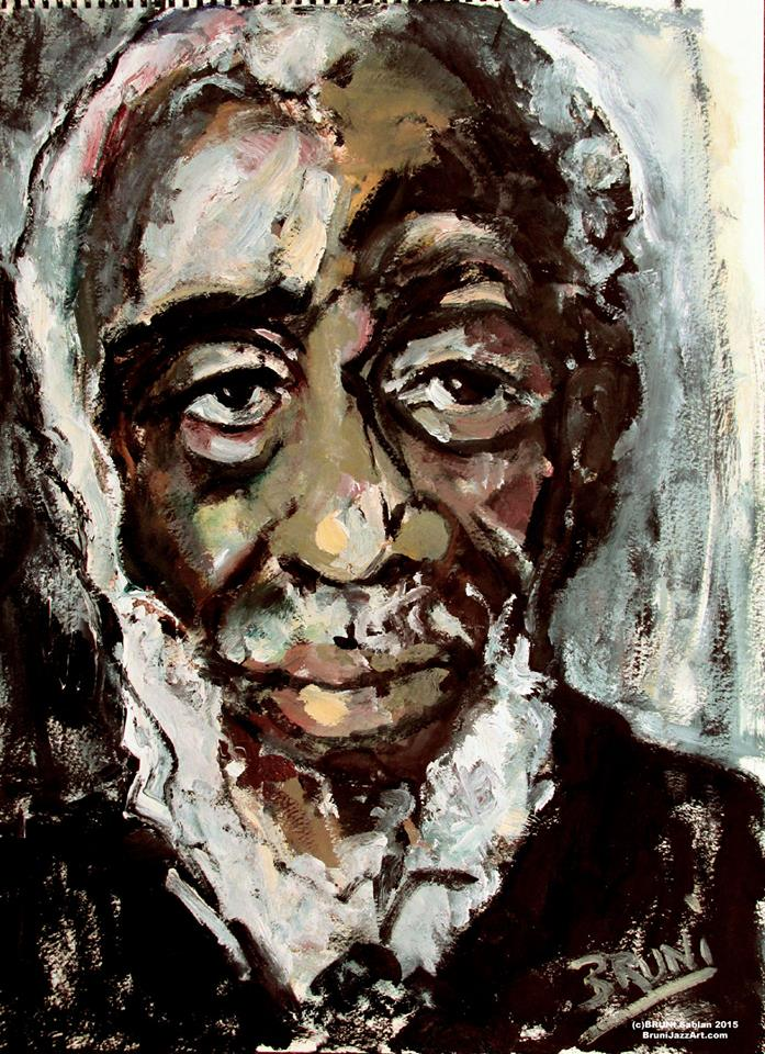 Dick Gregory by BRUNI