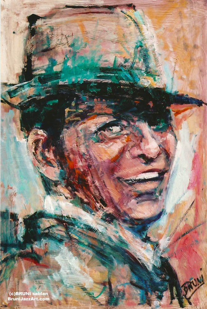 Frank Sinatra Painting by BRUNI