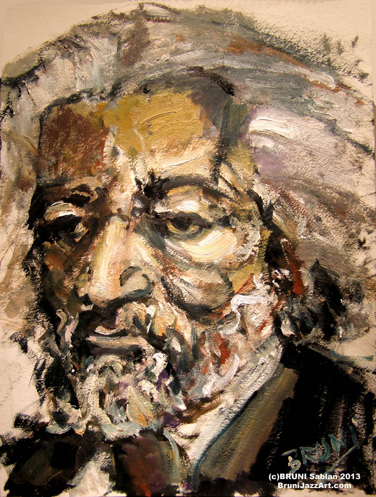 Frederick Douglass Painting by BRUNI