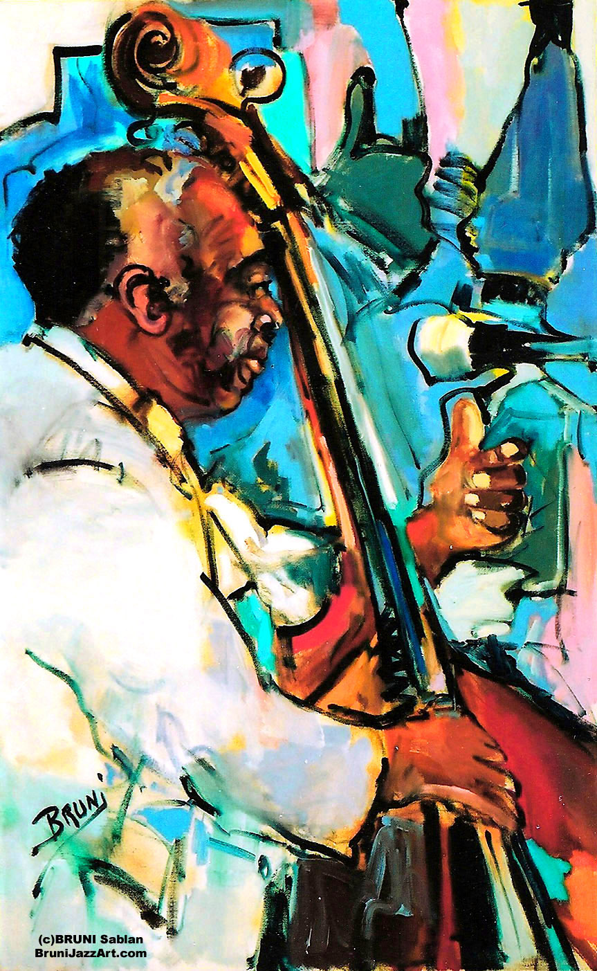 Milt Hinton by BRUNI