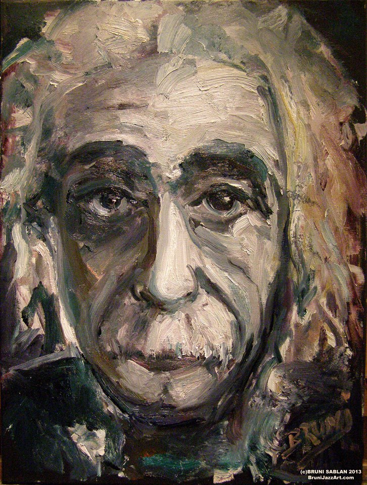 Albert Einstein by BRUNI