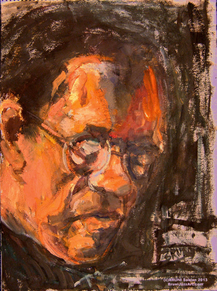 Cedar Walton Painting by BRUNI